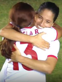 América de Cali, a segunda ronda en Copa Libertadores Femenina. Imagen del triunfo 5-0 sobre El Nacional.