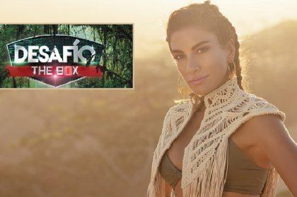 Andrea Serna en el 'Desafío', a propósito de que confirmaron fecha de estreno de la versión 'Desafío, The Box'.