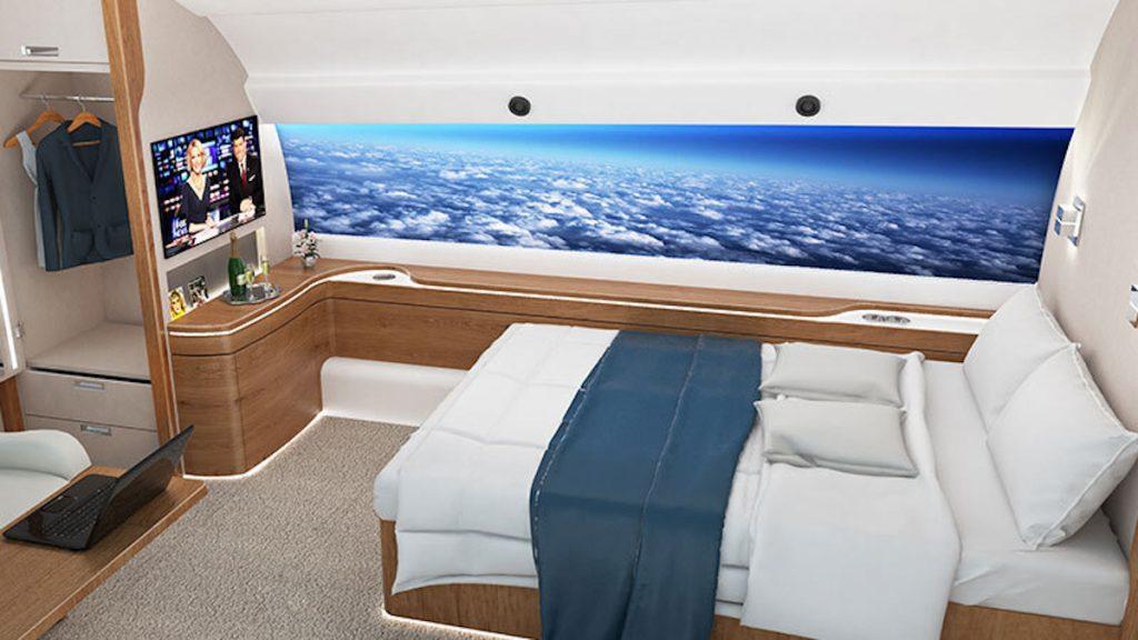 Spike Supersonic / El confort para los pasajeros es total
