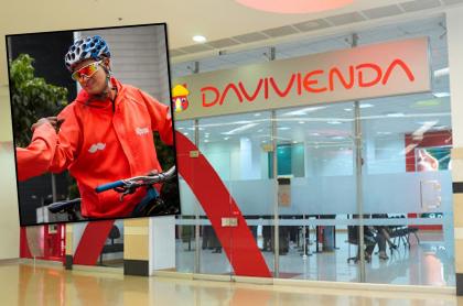 Davivienda y Rappi crearían un nuevo banco en Colombia.