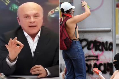 Carlos Antonio Vélez critica violencia en Día de la Mujer y pide más Policía. Fotomontaje: Pulzo.