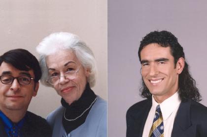 Álvaro Bayona, Teresa Gutiérrez y Miguel Varoni en 'Pedro, el escamoso', a propósito de que Miguel recordó a su mamá en aniversario de muerta.