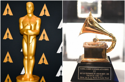 Fotos de Premio Óscar y Grammy, a propósito de cuánto valen