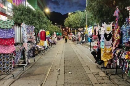 'Madrugón' de San Victorino, que reabrió este miércoles con pocos compradores