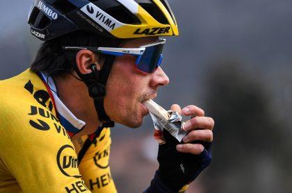 Primoz Roglic enla Paris-Niza 2021, clasificación general luego de la etapa 8