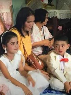 Video: Papás casan sus gemelos de 5 años, para limpiar posible karma, Tailandia