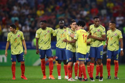 Foto de la Selección Colombia ilustra nota sobre entrevista con Daniel Angulo