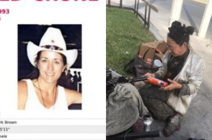 Capturas de pantalla de la estadounidense que fue hallada en México, luego de 28 años de búsqueda del FBI
