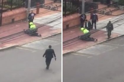 Hombre capturado por la balacera en la Carrera Séptima de Bogotá
