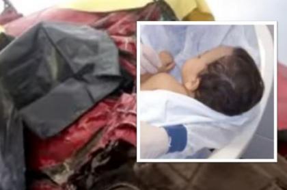 Oliver Toro Chacón, bebé venezolano, quedó huérfano en Argentina luego de sobrevivir a un accidente de tránsito en el murieron sus padres.