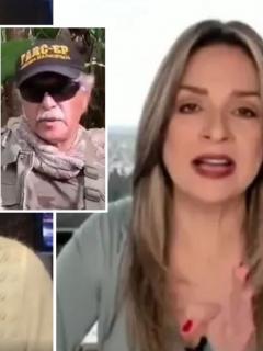 RCN TV rechazó amenazas de Jesús Santrich a Claudia Gurisatti y Vicky Dávila