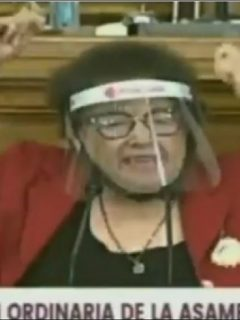 Diputada María de Lourdes León cometió un lapsus hasta divertido en sesión de la Asamblea de Venezuela