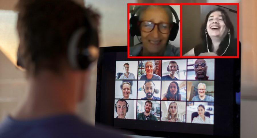 Profesores se burlan de sus estudiantes en clases virtuales.