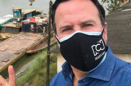 Felipe Arias, presentador de RCN, aseguró que llegó a pensar que no iba hacer más periodismo en su vida debido a infarto.