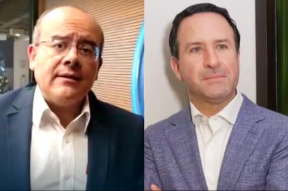 """Felipe Arias: Ricardo Orrego está preocupado por salud de su """"amigo de la vida"""". Fotomontaje: Pulzo."""