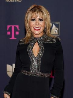 Foto de Alejandra Guzmán, cantante que tiene COVID-19