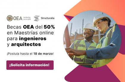 Becas de la OEA para capacitarse en maestrías online
