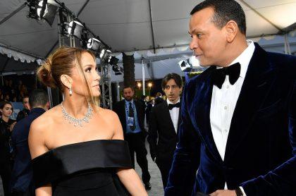 Jennifer Lopez y Alex Rodriguez, quienes terminaron su noviazgo