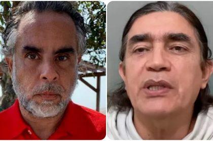 Armando Benedetti y Gustavo Bolívar, senadores enfrentados en Twitter.