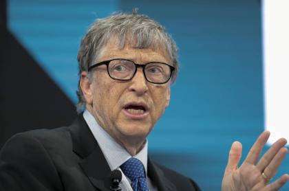 Foto de Bill Gates ilustra nota sobre bitcóin