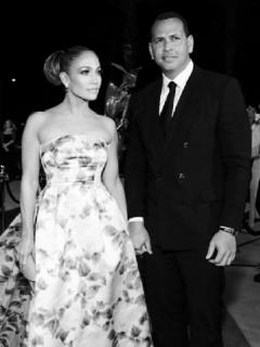 Jennifer Lopez y Alex Rodriguez, quienes terminaron recientemente.