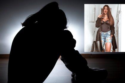 Alejandra Villeta, influencer colombiana, cuenta su historia de abuso siendo menor de edad.