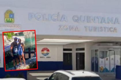 Imágenes de Cancún, a propósito del caso de abuso policial denunciado por colombianos.