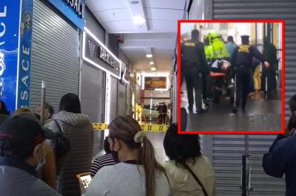 Balacera en San Andresito de San José dejó a dos hombres heridos.