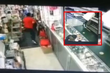 Video de la balacera en San Andresito, en Bogotá, que mató a un comerciante.