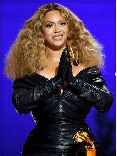Collage con fotos de Beyoncé, Grupo Niche y Bad Bunny, artistas que hacen parte de la lista de ganadores en las categorías más importantes de los Grammy 2021.