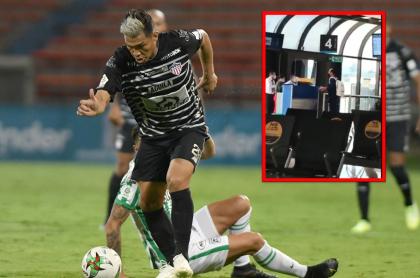 A Teófilo Gutiérrez lo dejó el avión en el aeropuerto de Rionegro luego del partido de Nacional vs. Junior en la Liga BetPlay.