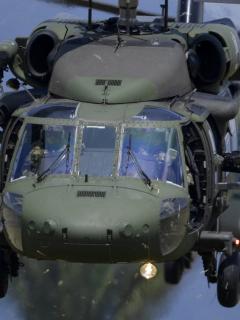 Helicópteros Ejército Nacional ilustran nota sobre cuerpos identificados en bombardeo en Guaviare