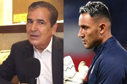 Kéylor Navas acusado de hacer perder a Costa Rica para sacar a Jorge Luis Pinto. Fotomontaje: Pulzo.