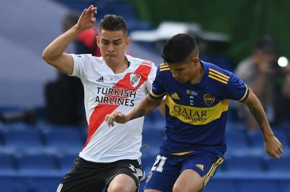 River Plate vs. Boca Juniors: periodista critica presencia de cinco colombianos.