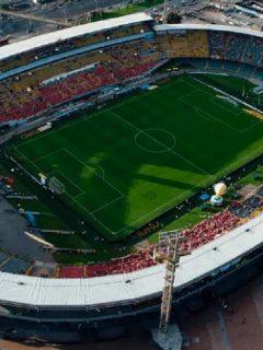 Estadio El Campín de Bogotá, ciudad en la que el Gobierno quiere que la Selección Colombia juegue en la Copa América