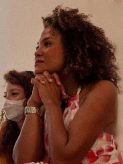 La periodista Mabel Lara podría lanzarse a la política en 2022.