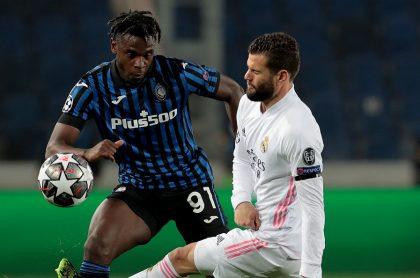 Duván Zapata en Atalanta vs Real Madrid: hora, canal y apuestas hoy por Champions
