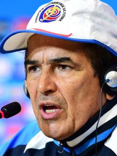 Jorge Luis Pinto acusa a Kéylor Navas de querer perder para sacarlo de C. Rica. Imagen de referencia del DT colombiano.