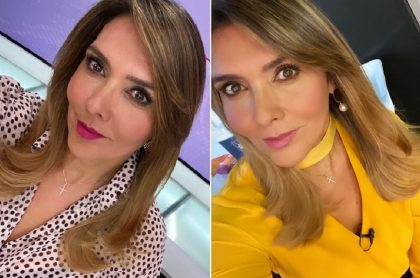 Mónica Rodríguez en Noticias Uno, a propósito que dice que sí la amenazaron por sus opiniones políticas y denunció falta de apoyo.