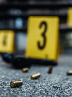 Balas en el suelo, ilustran nota de balacera en Ibagué hoy: deja al menos una personas herida