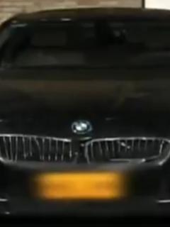 Carro BMW que le robaron a hombre en Bogotá que se dirigía a la panadería