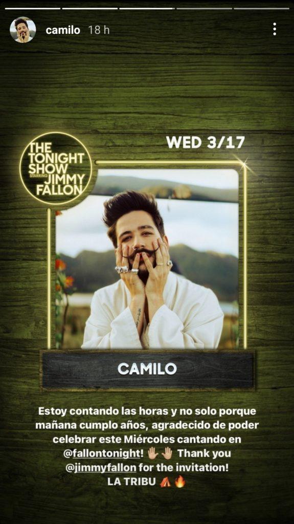 Instagram: @camilo