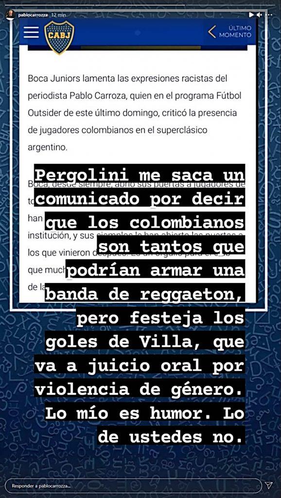Instagram PabloCarrozza