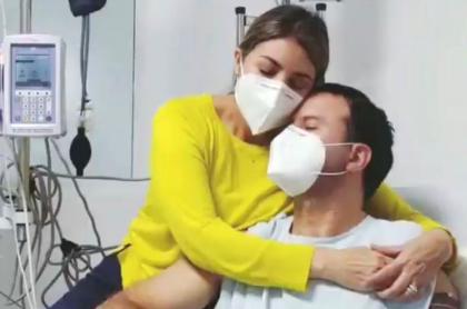 Felipe Arias, presentador de RCN, en mejoría, pero sigue hospitalizado