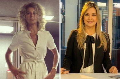Margarita Rosa de Francisco y Vicky Dávila, a quien la actriz criticó fuertemente por el periodismo que hace