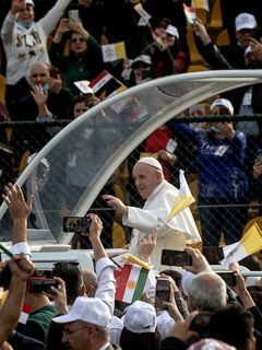 Papa Francisco en Irak.
