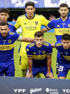 Boca Juniors busca recibir a Édinson Cavani, nacionalizando a Jorman Campuzano. Imagen de referencia del cuadro 'xeneize'.