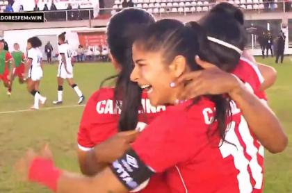 América, finalista de Libertadores Femenina; eliminó a Corinthians de Brasil
