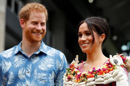 Foto de príncipe Harry y Meghan Markle, a propósito de que dicen que se van a separar