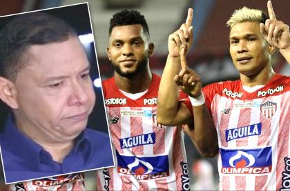 Memes para Iván René Valenciano por triunfo de Junior en Copa Libertadores. Fotomontaje: Pulzo.